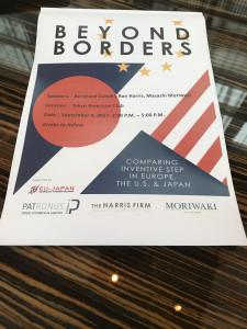 Beyond borders - Sep 4th