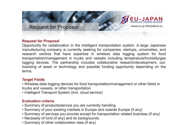 RFP_Intellligent Transportation