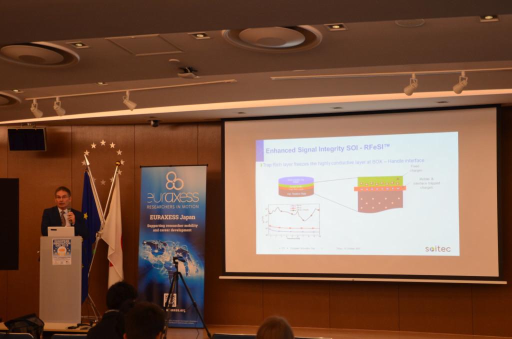 Dr. Carlos Mazure, Chairman & Executive Director, SOI Industry Consortium (SOITEC)