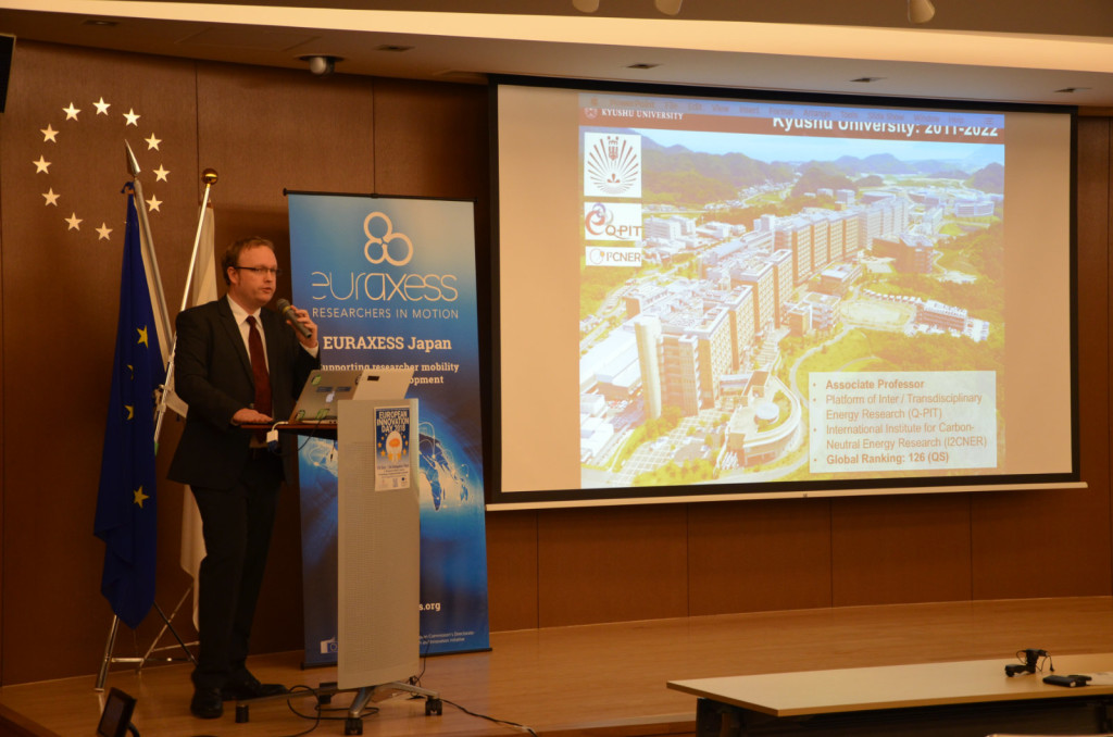 Prof. Stephen Lyth, Kyushu University Platform for Carbon-Neutral Energy Research (Q-PIT)