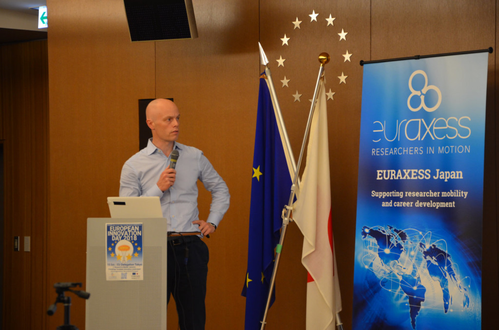 Dr. Lee Woolgar, Senior ICT Policy Officer, Delegation of the European Union to Japan