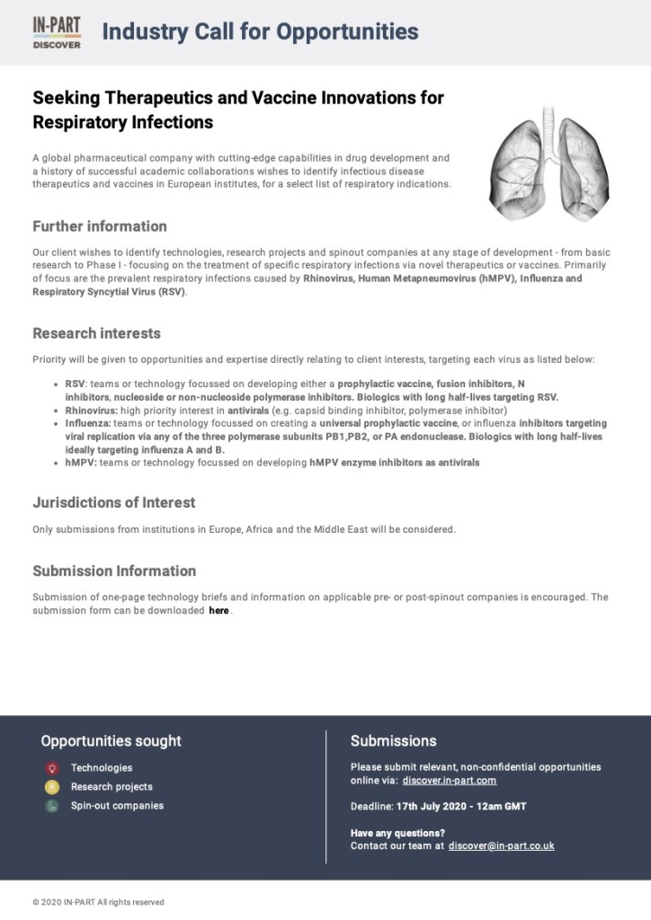 2_Seeking Therapies and Vaccines for Respiratory Infections_Discover